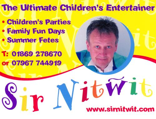Sir nitwit childrens entertainer family event entertainer childrens entertainer sir nitwits business card colourmoves